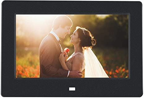 Digital Photo Frame 7inch Picture Frame Portable Amazon Co Uk Electronics
