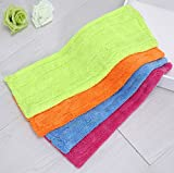 Andesan 3 Pcs Replaceable washable Coral Velvet Mop Cleaning Pad