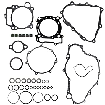 Complete Gasket Kit Top /& Bottom End Set for YAMAHA YFZ450 YFZ 450 2004-2009