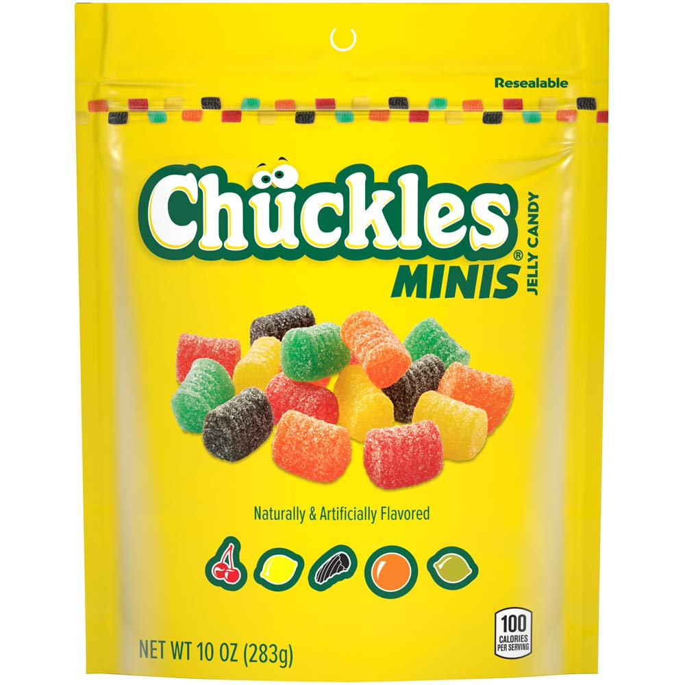 Chuckles Mini Jelly Candy, 10 Ounce, Pack of 6