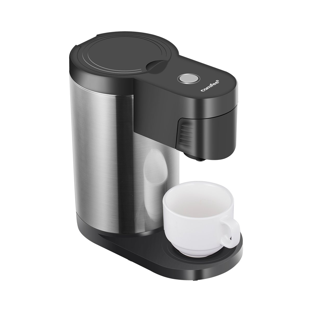 Single Serve Coffee Maker Brewers, One Cup Coffee Machine for Most Single Cup Pods including Pods Comfee MC-K03A