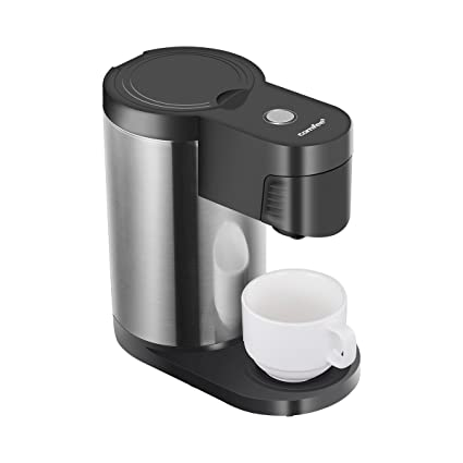 Ultimate 2 In 1 Single Cup Coffee Maker 14oz Travel Mug Combo