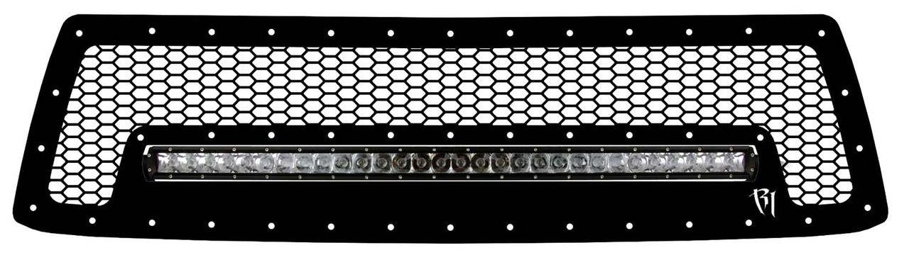 Amazon.com: Rigid Industries 40554 Grille Kit for Toyota Tundra ...