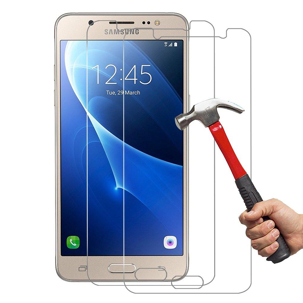 Unidades SamsungJCristal Templado Hepooya J Protector de Pantalla para Samsung Galaxy J