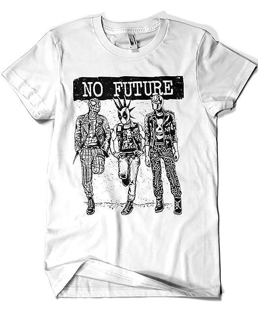 Camisetas La Colmena 4191-Camiseta Premium, No Future (Loku): Amazon.es: Ropa y accesorios