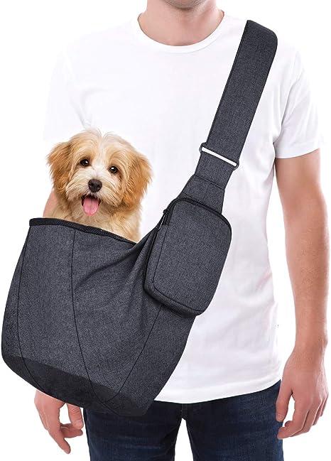 Petacc Bolsa de Transporte para Perros Pequeños con Bandolera ...