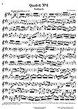 Cherubini, Luigi : Drei Quartette fur zwei Violinen, Viole und Violoncello. Nachgelassenes Werk. Quartett No. I (Viertes Quartett) E dur.
