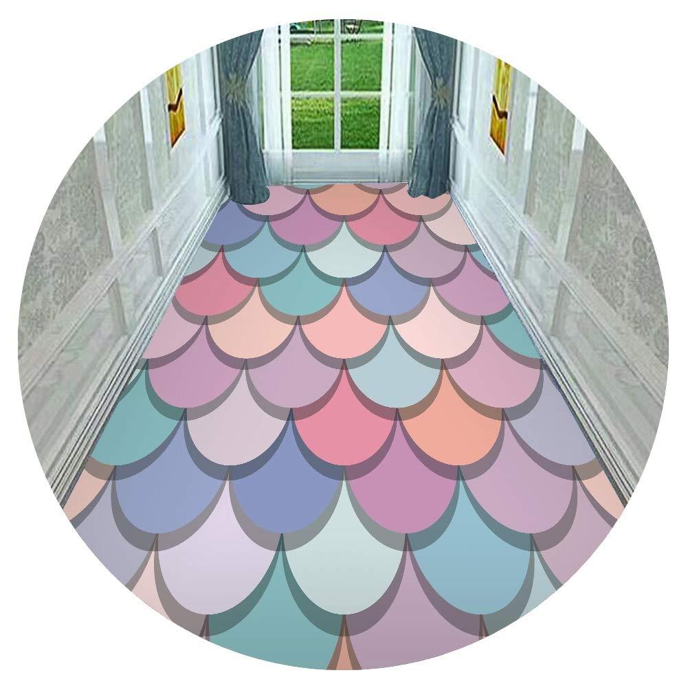 ZHAOHUI 廊下のカーペット 敷物 ランナー カーペット 防塵 柔らかい 快適 リビングルーム 寝室、 6mm、 カスタマイズ可能 (色 : A, サイズ さいず : 1.4x8m) B07SCZ67K4 A 1.4x8m