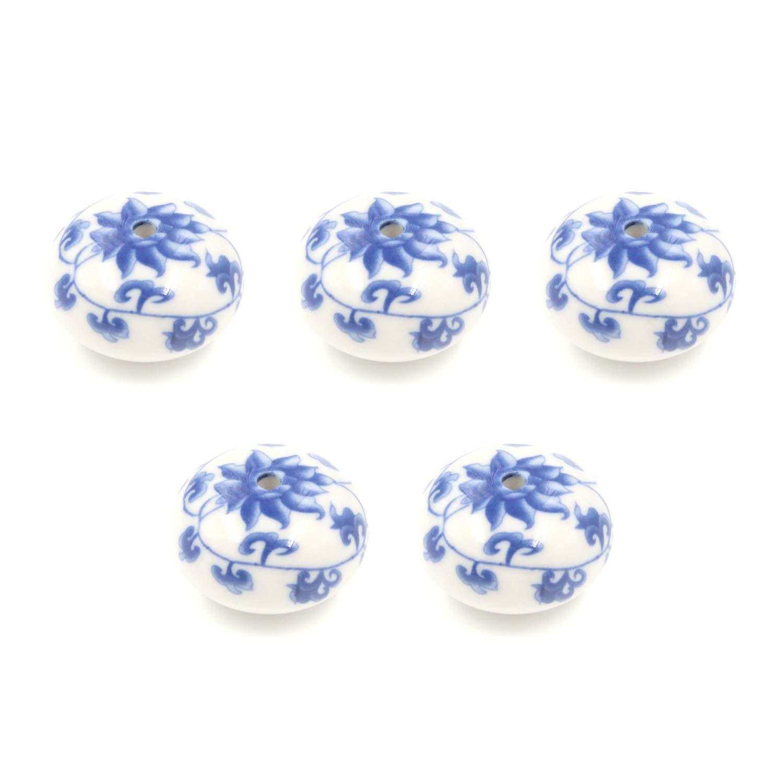 5 Tiradores de Ceramica / Porcelana (7YC5ZNHB)