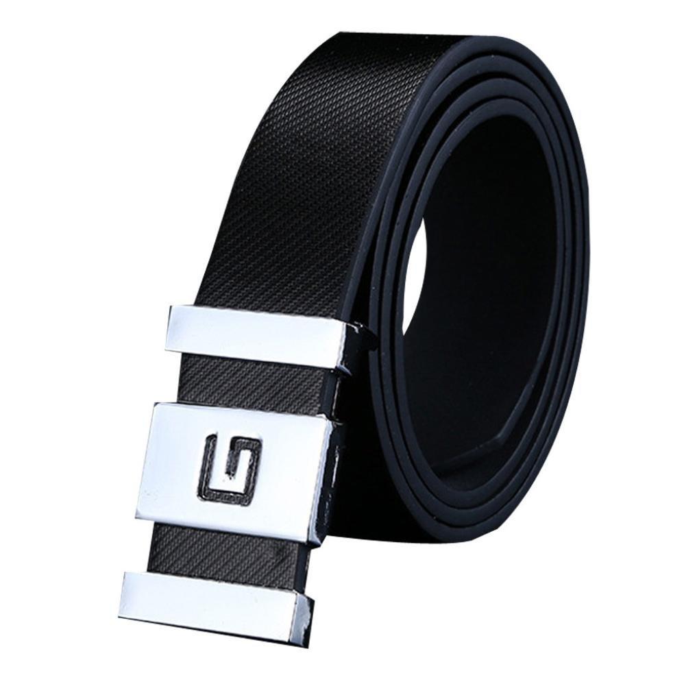 Men/'s Comfortable Dress Belt Quick Release Alloy Buckle Waist Strap Classic 1PC