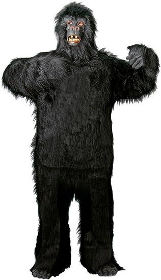 Foxxeo Premium Gorila Disfraz de Hombre Animal Adulto para el ...