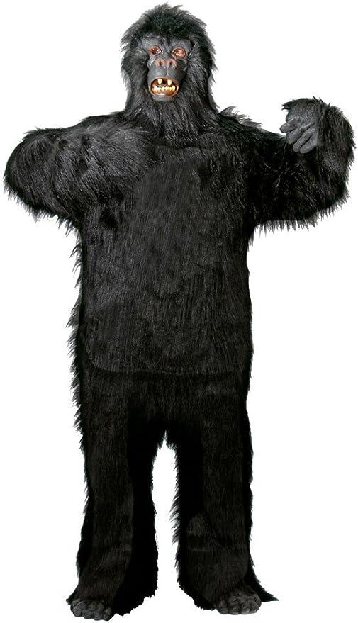 Foxxeo 40088 Disfraz de gorila para adultos de gran calidad, talla ...