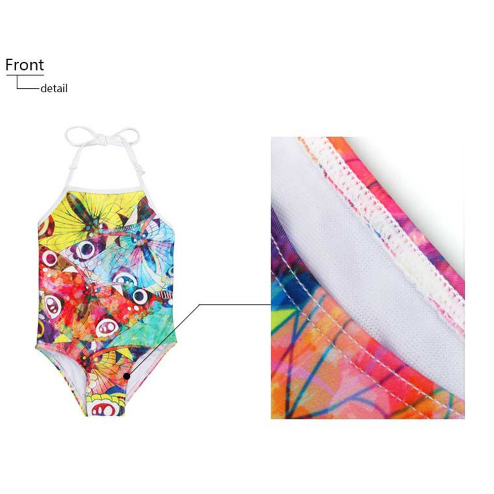Sannovo Boxer Dog Print One Piece Animal Swimsuit for Girl Cute Bathing Suit 5T-6T by Sannovo (Image #3)