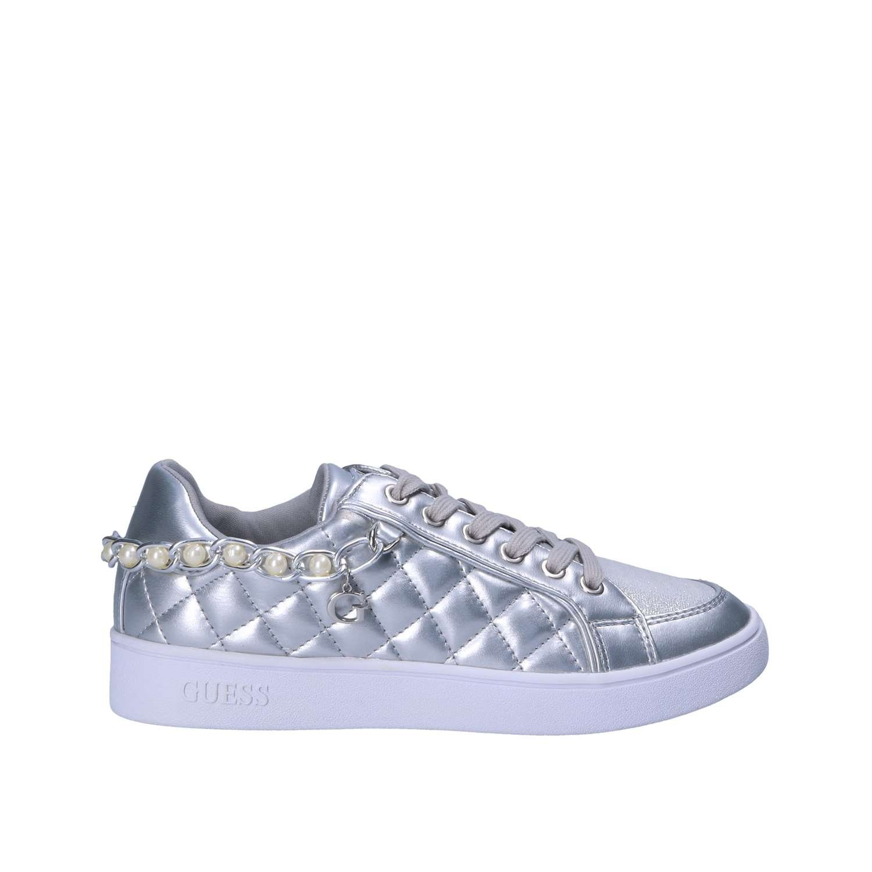 Guess Sneakers Argentées Brianna Avec Flrnn2 Jeans Perles 1J3FKul5cT