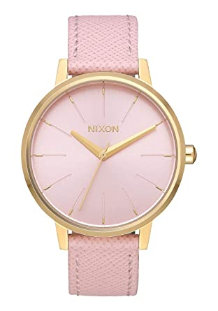216714db396c7 Nixon Kensington Leather Casual Designer Women s Watch (37mm. Leather Band)