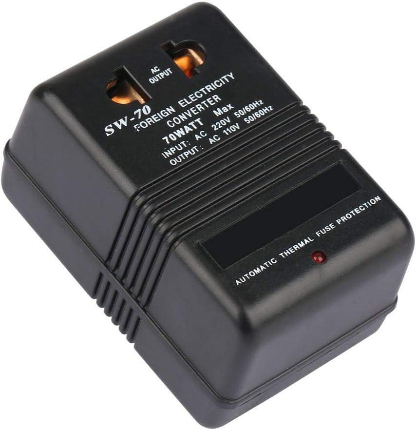 Convertidor Buck, transformador de voltaje de 220V a 110V, transformador de 70W, conector CN