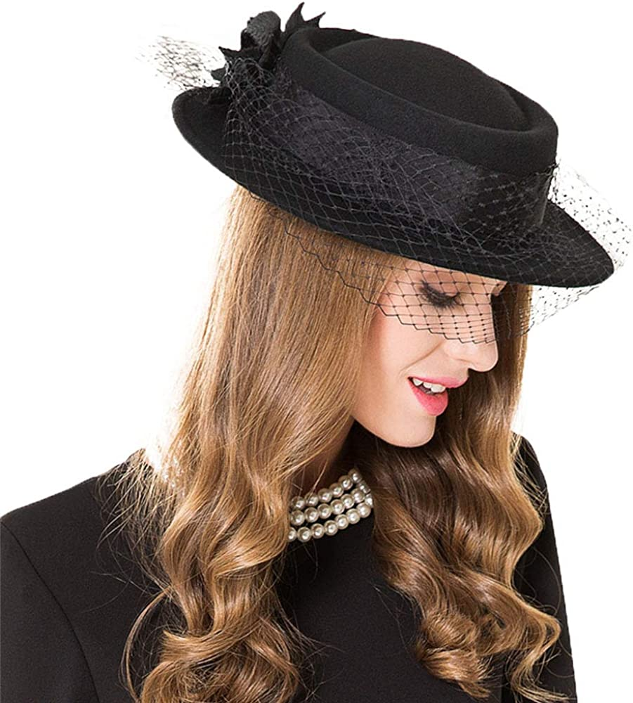 F FADVES Women's Wide Brim...