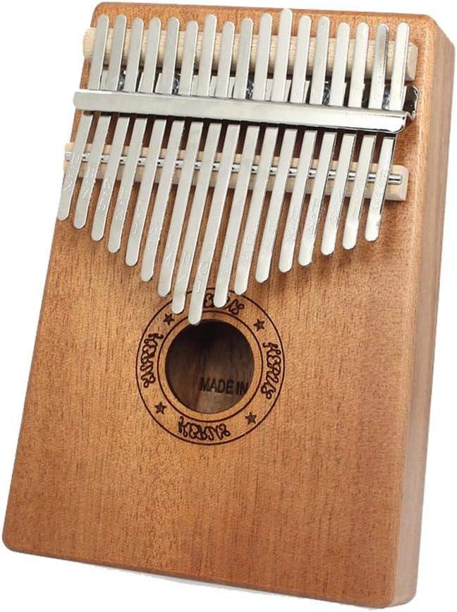 Piano para Principiantes con Martillo para Profesionales hook.s Kalimba 17 Teclas para Piano de Pulgar
