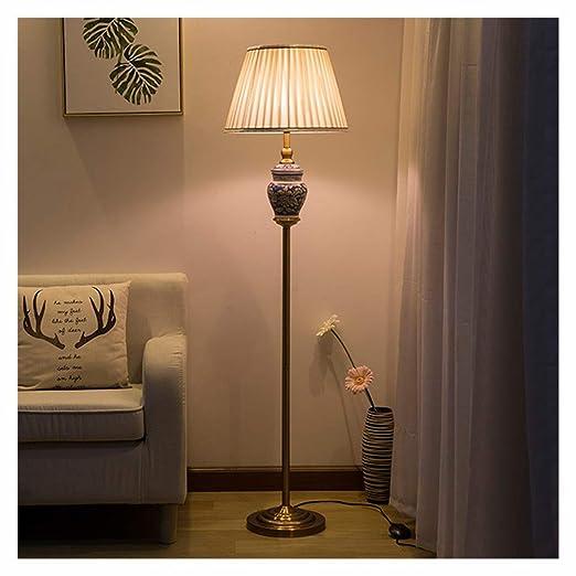 Vintage clásico chino de cerámica de cobre llevó la lámpara ...
