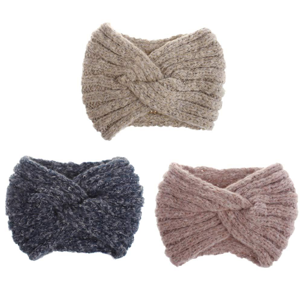 Minkissy Knitted Headband...