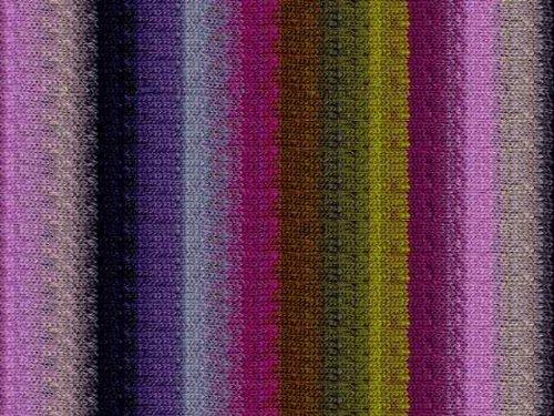 Noro Kureyon, 188 - Moss-Purple-Lavender-Grey (110 Yard Yarn)