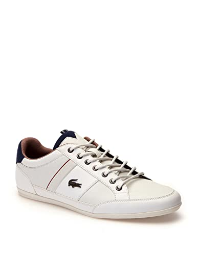 a0af579ae13fa6 Lacoste Men s Chaymon 118 2 Cam Leather Trainers
