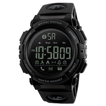 LJS-BQ Reloj Deportivo Inteligente, Reloj Electrónico Paso A Paso App Reloj De Moda