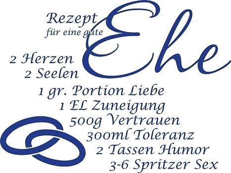 GRAZDesign Küchen Wandtattoo Geschenk zur Hochzeit - Sprüche ...