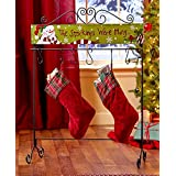 The Lakeside Collection Standing Holiday Stocking Hangers