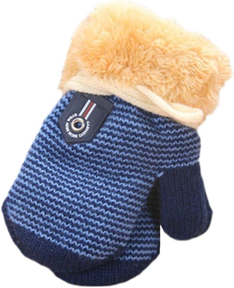 Gants B/éb/é Nouveau-N/é Gar/çon Fille Unisex pour Hiver Entireface Moufles B/éb/é Anti Griffure Gants en Coton Biologique