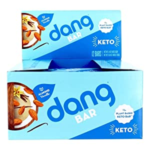DANG Almond Cookie Bar 12 Count, 1.4 OZ