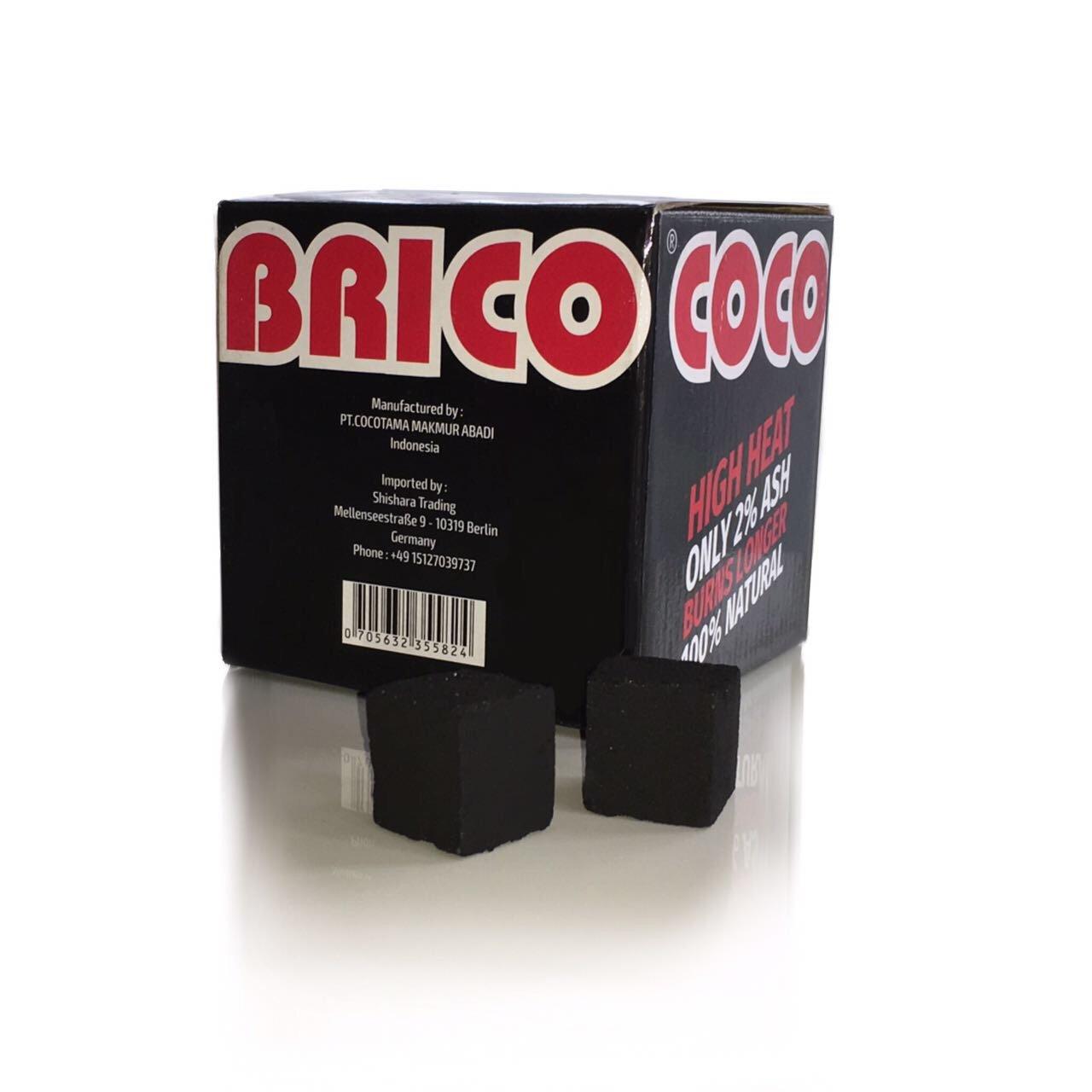 COCOBRICO - Carbone per shisha, 1 kg