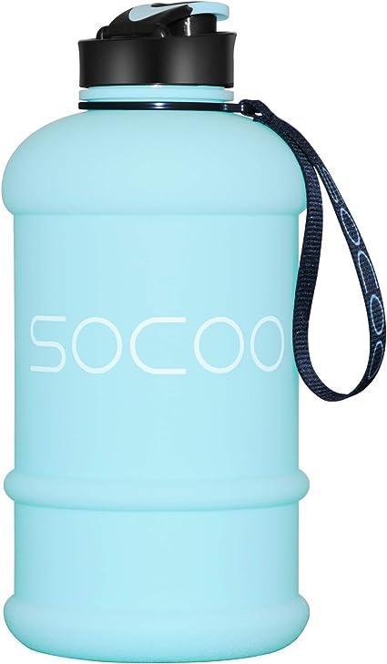Acero inoxidable botella de agua impermeable Sport bicicleta botella escuela camping