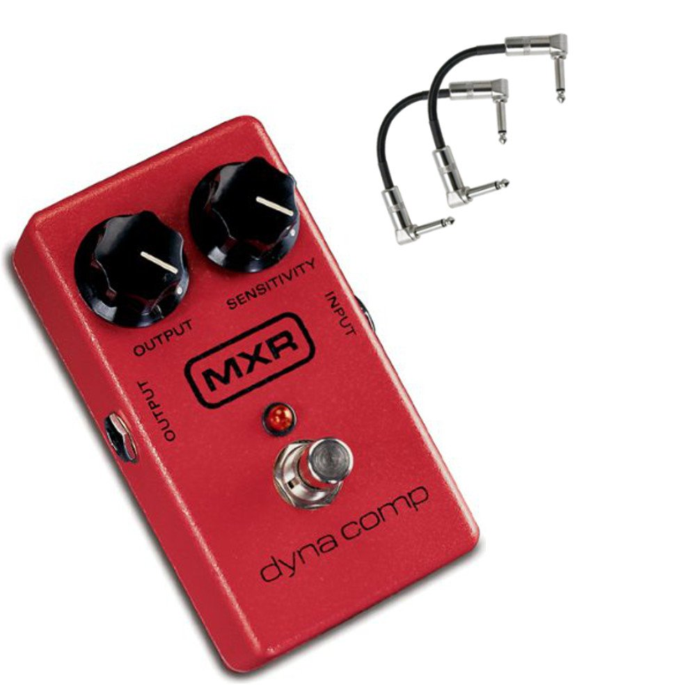 MXR M102 Dyna Comp Effects Pedal with 2 patch Cables