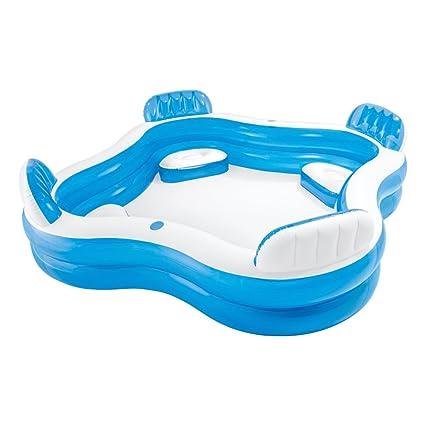 Intex Swim Center Family Lounge Inflatable Pool, 90\