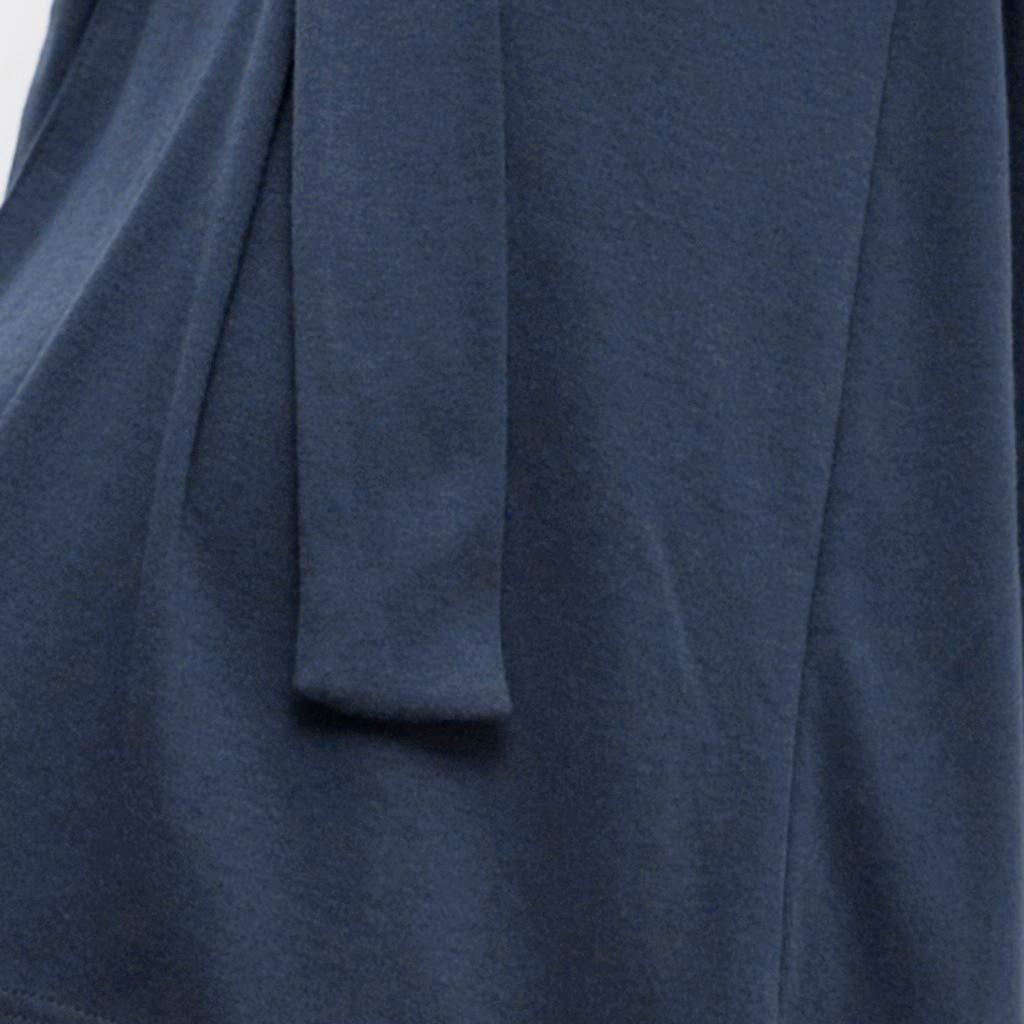 Rcool Camisones Batas y Kimonos Camisones Mujer Camisones Verano Camisones Tallas Grandes Mujer,Pijamas de Punto de baño de algodón de Manga Larga para ...
