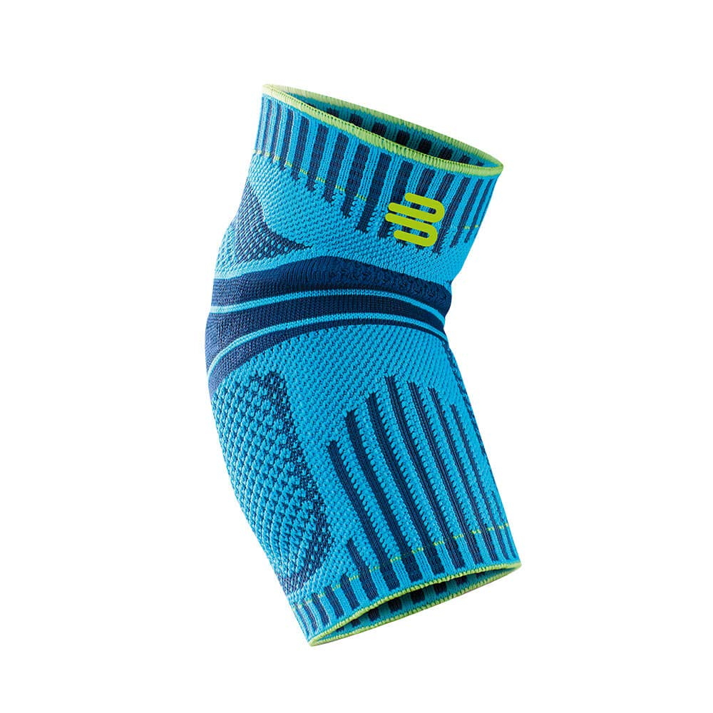 Bauerfeind Sports Elbow Support - Breathable Compression Elbow Brace - Contoured Pads for Inner and Outer Elbow Protection Against Joint Pressure - Air Knit Fabric Washable & Durable (Rivera, X-Large) by Bauerfeind
