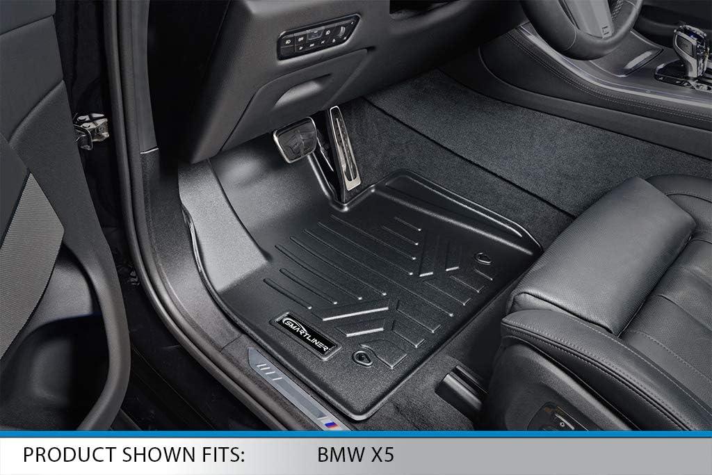 MAXLINER Custom Fit Floor Mats 1st Row Liner Set Black for 2019 BMW X5