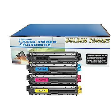 4PK Toner for Brother TN221 TN225 HL-3140CW HL-3170CDW MFC-9130CW MFC-9340CDW