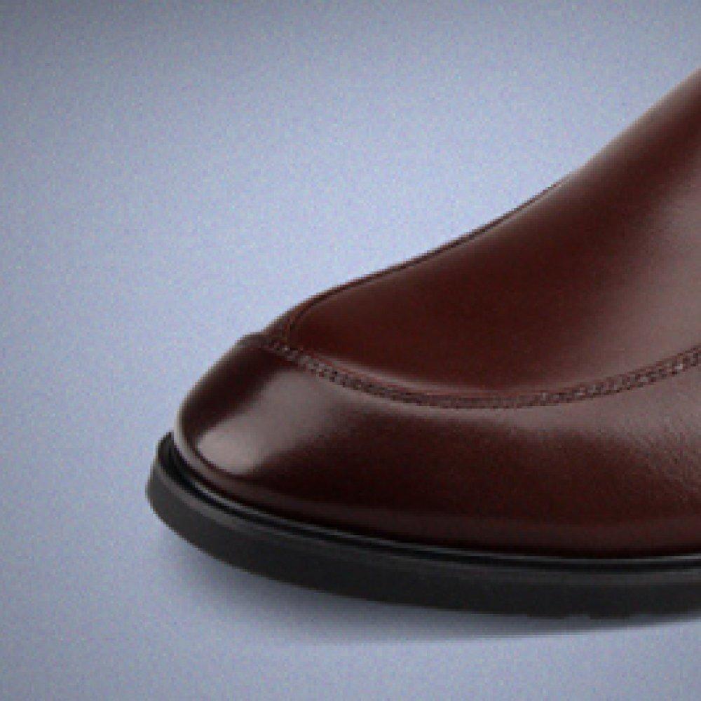 NIUMJ Herren Lederschuhe Low Cut British British British Business Atmungsaktive Einzelschuhe Leather 6ce781