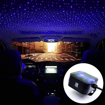 FOONEE luz de estrella para coche, proyector de luz de ambiente de ...