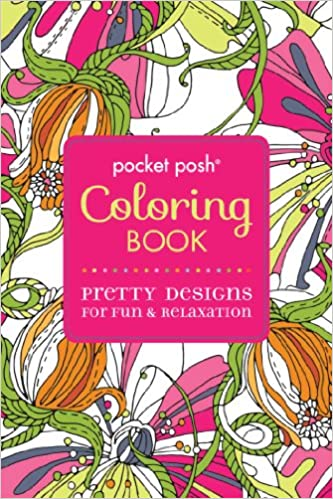 Ipad Coloring Book Le Pencil : Amazon.com: pocket posh adult coloring book: pretty designs for