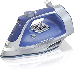 Hamilton Beach Durathon Garment Iron 19804 with Retrac Cord Blue