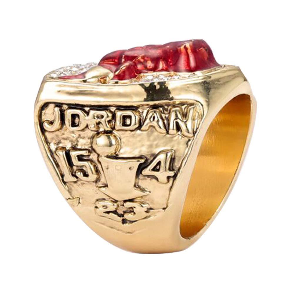 Sports Fans Collection Champion-Ringe WEI Ringe Erinnerungsringe High-End-Legierungsringe