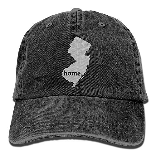 VCXE0 New Jersey Is My Home Mens&womens Vintage Style Fashion Sport Cap Baseball (Jersey Vintage Cap)