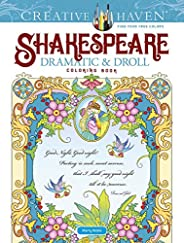 Creative Haven Shakespeare Dramatic & Droll Coloring