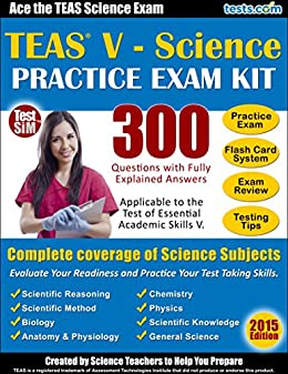 Amazon teas v science practice exam kit ace the teas v teas v science practice exam kit ace the teas v science exam 300 fandeluxe Image collections
