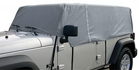 Amazon Com Rampage Products 1264 Grey 4 Layer Breathable Car Cover