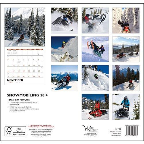 Snowmobiling 2014 Wall Calendar