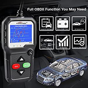 KONNWEI OBD II OBD2 Scanner Car Code Reader KW680S Enhanced Check Engine Light Scan Tool ODB2 Scanner Cars after 1996
